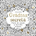 Recomandare carte: Gradina secreta – Carte de colorat si activitati antistres